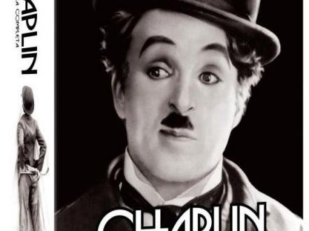Coleção CHAPLIN: A OBRA COMPLETA também está voltando em DVD pela Versátil!