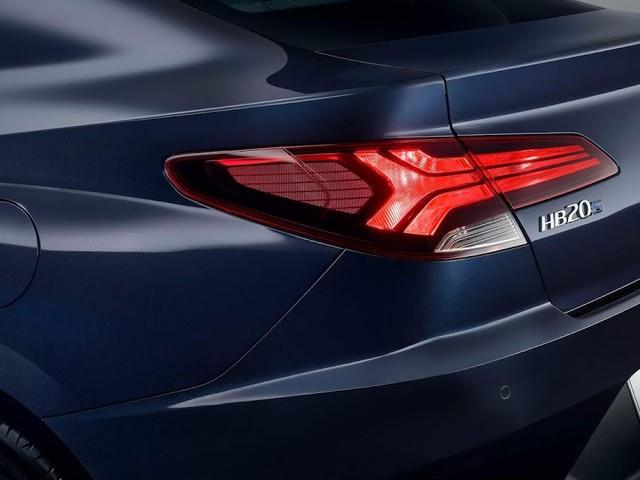 Novo Hyundai HB20S 2020: foto oficial traseira divulgada