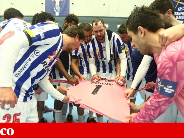 FC Porto venceu o Elverum na Liga dos Campeões de andebol