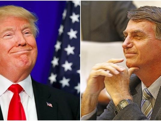 Jornal dos EUA faz comparação entre Jair Bolsonaro e Donald Trump