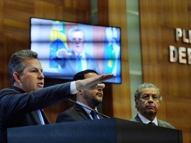 Mauro Mendes (DEM) toma posse como governador de MT nesta terça-feira (1º)
