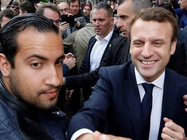 Segurança de Macron que agrediu manifestante será demitido