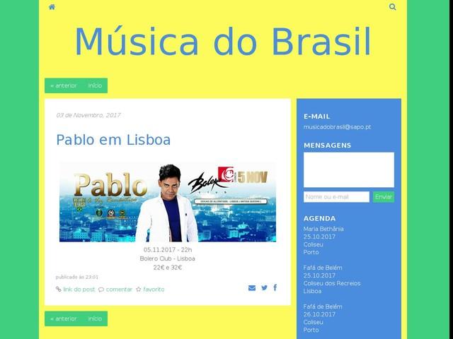 Pablo em Lisboa