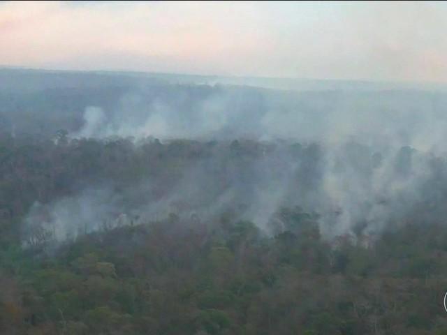 Incêndio na Amazônia maranhense se aproxima de área onde vivem índios isolados