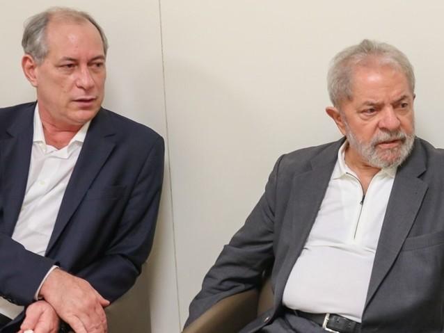 Ciro torce pela absolvição de Lula