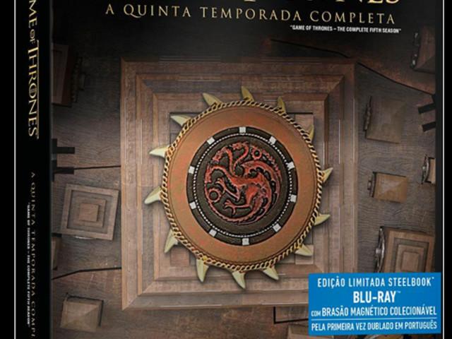 #DICA | SteelBooks de Game of Thrones com desconto E MAIS!