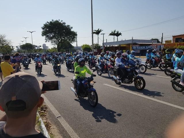 Moto Romaria reúne cerca de 30 mil pessoas em homenagem a são Francisco