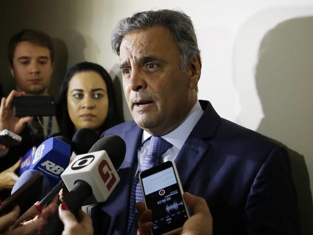 Marco Aurélio determina quebra de sigilo bancário e fiscal de Aécio