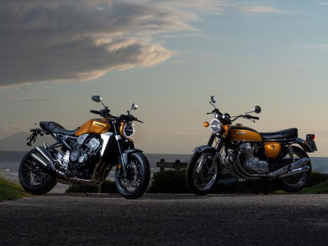 Honda celebra 50 anos da CB 750 com customizações