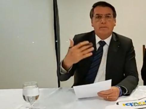 Bolsonaro admite que produtores podem estar por trás de queimadas