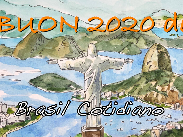 Buon 2020 con un poema di Drummond de Andrade