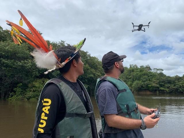 Drones serão usados na fiscalização de florestas em RO