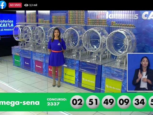 Única aposta de Fortaleza leva prêmio de R$ 21,8 milhões da Mega-Sena deste sábado