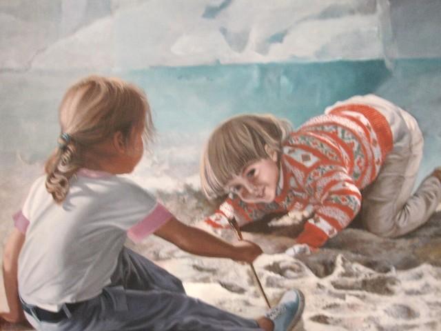 Dia das crianças, brincadeiras na arte!