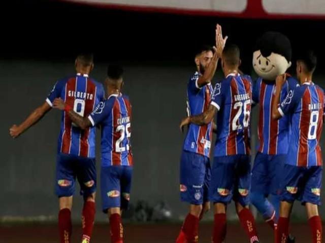 Sem dificuldades, Bahia vence o Imperatriz por 2 a 0