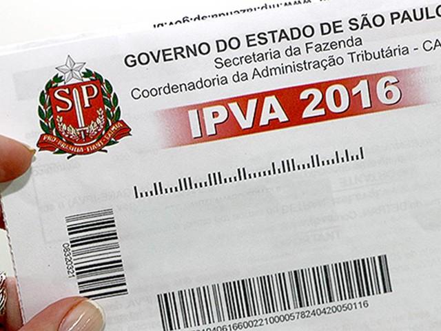 SP | Prazo para pagar IPVA de carro com placa final 1 vence hoje