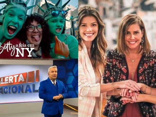 Audiência da TV desta terça 28/01: Novo 'William Bonner' da RedeTV! sobe igual foguete e Betty a Feia ameaça concorrência