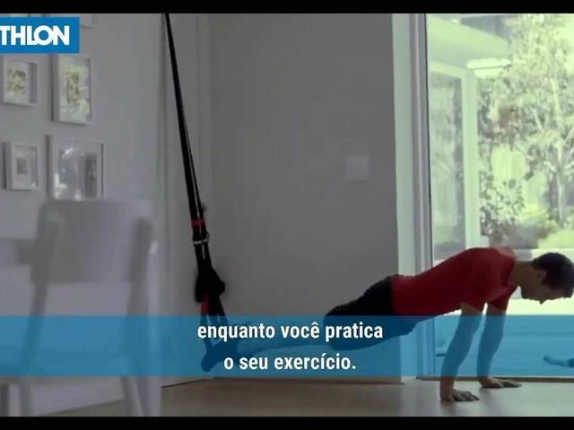 Decathlon faz recall de fita de suspensão para exercícios, usadas em treinos TRX