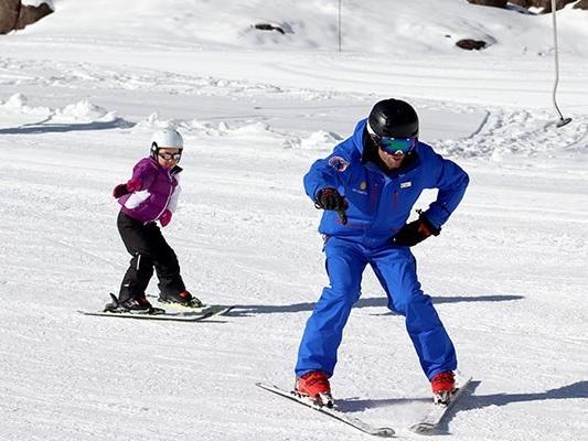 Neve no Chile, Portillo, a melhor estação para aprender a esquiar