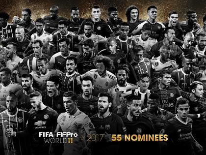 Os 55 melhores jogadores do mundo na temporada 2016/2017, segundo a Fifa