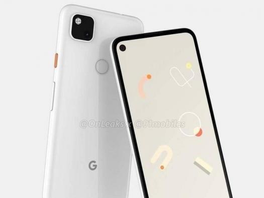 Google Pixel 4a: imagens destacam design sem bordas e câmera única