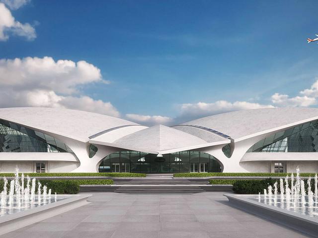 Conheça o TWA Hotel que irá inaugurar em breve no Aeroporto Internacional JFK, em Nova York