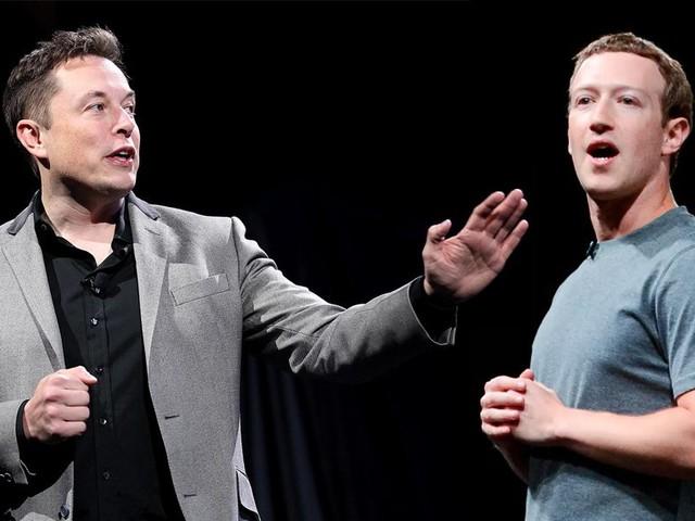 Treta tech: Elon Musk diz que Mark Zuckerberg manja pouco de inteligência artificial