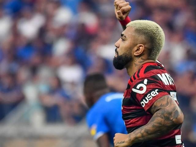 Gabigol se declara ao Flamengo: 'É o melhor time em que joguei na carreira'