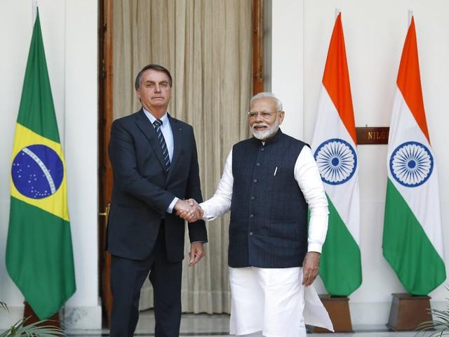 Com 15 acordos assinados, Brasil e Índia potencializam relação comercial