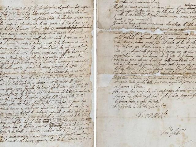 Carta 'perdida' mostra que Galileu tentou amenizar texto para enganar a Inquisição