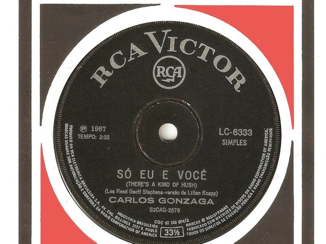 Carlos Gonzaga - Só eu e você (CS 1967)