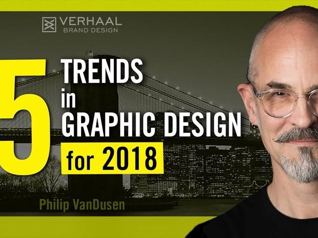Tendências de design gráfico para 2018