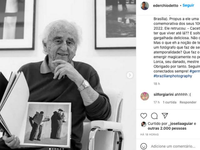 Morre German Lorca, aos 98 anos, último representante do Foto Cine Clube Bandeirante