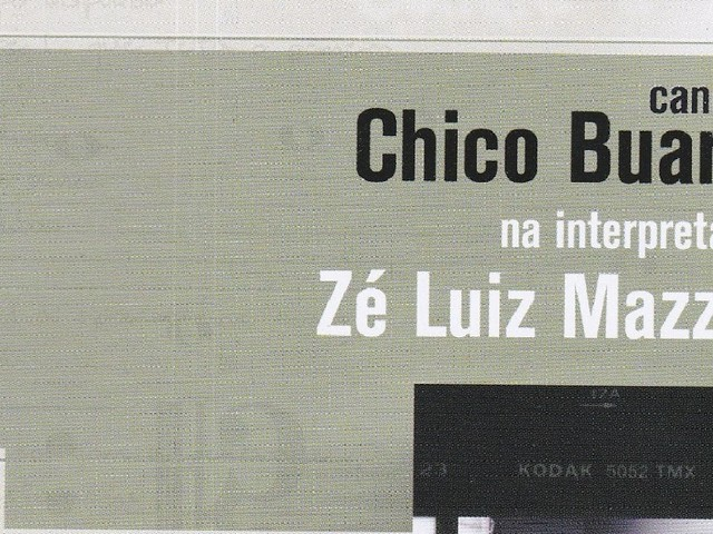 Zé Luiz Mazziotti - Canções de Chico Buarque (CD)
