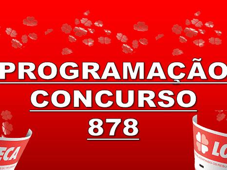 Loteca 878 programação grade dos jogos