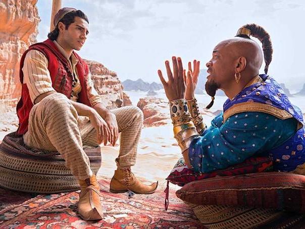 """""""Aladdin"""" é alegre e divertido, mas evapora assim que a sessão acaba"""