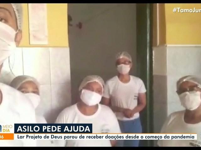 Asilo deixa de receber doações durante pandemia do coronavírus e precisa de ajuda; saiba como doar