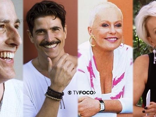 Celebridades da Globo enfrentaram a morte de peito aberto e renasceram em vida