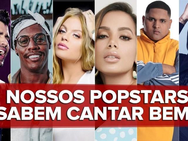 É possível fazer sucesso sem saber cantar muito bem? G1 analisa as vozes dos popstars brasileiros
