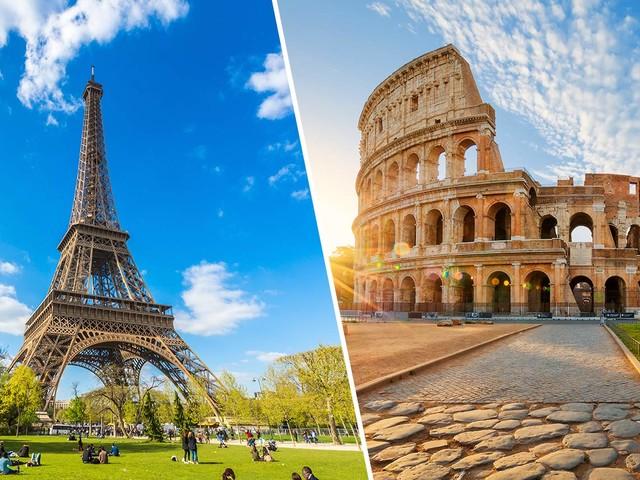 Europa 2 em 1! Passagens para Lisboa, Londres, Paris, Milão e outras cidades a partir de R$ 2.167!