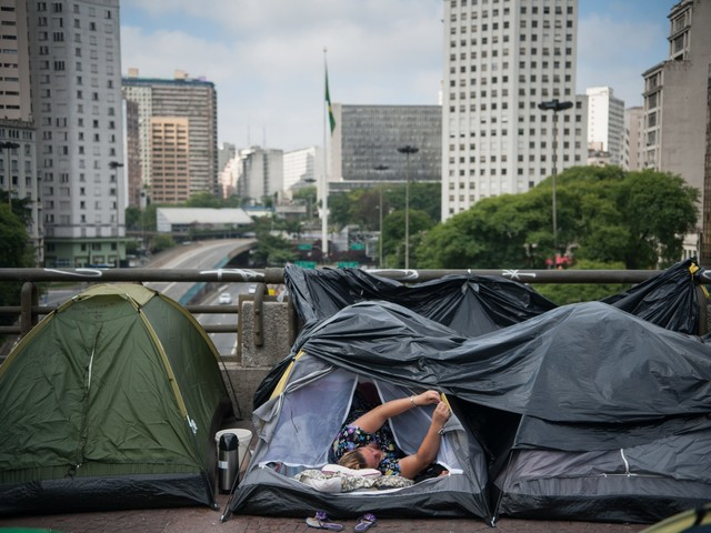 Rising Homelessness: Social Situation Further Worsened in Brazil