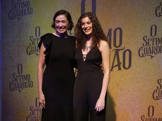 """Filha de Lilia Cabral brilha em O Sétimo Guardião e a atriz comenta: """"Mérito dela"""""""