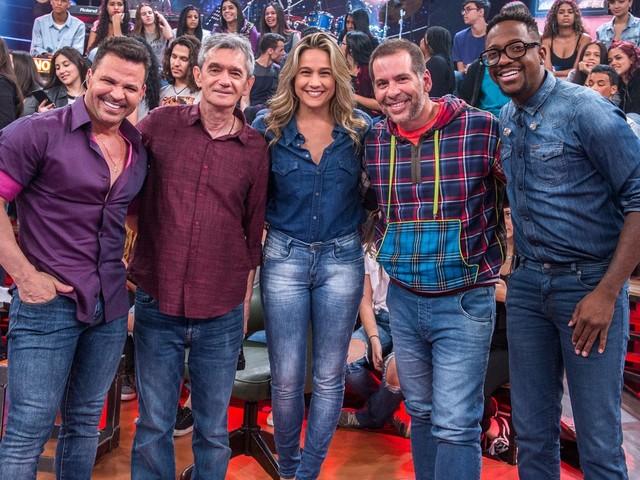 Globo chama Eduardo Costa para programa novamente e é detonada nas redes