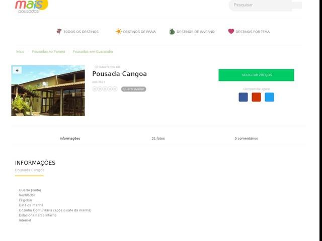 Pousada Cangoa - Guaratuba - PR