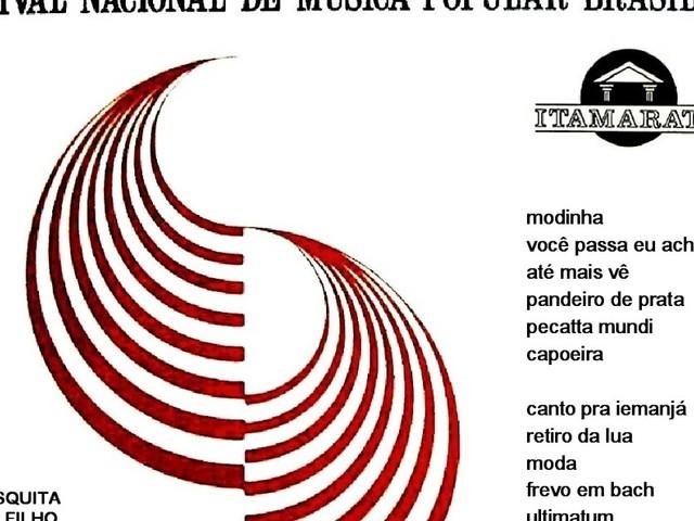 Vários intérpretes - O Brasil canta no Rio (LP 1968)