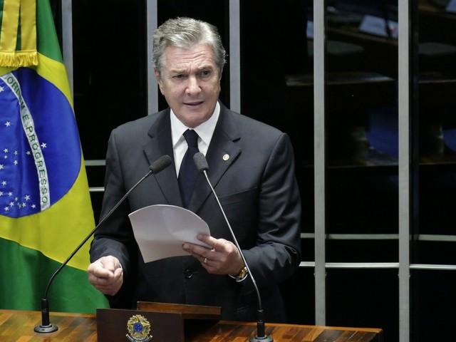 Senador Fernando Collor anuncia filiação ao PROS