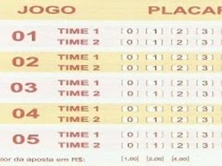 Lotogol 905 programação grade dos jogos
