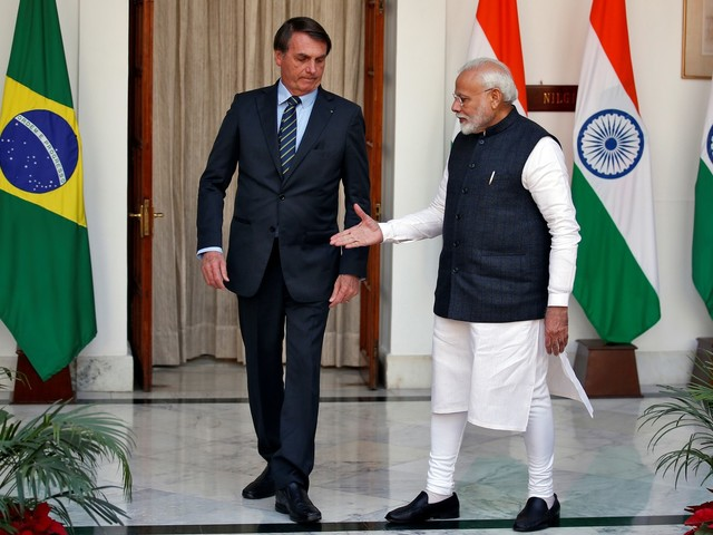 Como foi a visita de Bolsonaro à Índia para o agronegócio