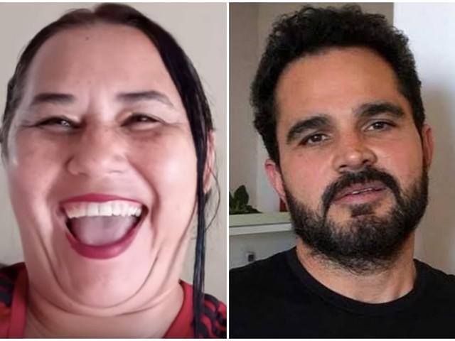 Tô é morta! Cleo Loyola acusa Luciano Camargo de desfilar usando suas calcinhas