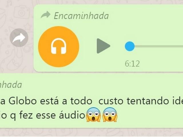 É #FAKE áudio atribuído a funcionário da Globo com orientações contra Bolsonaro